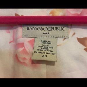 🌸Banana Republic Sz: XS Adorable 100% Cotton 🌸